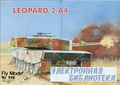 Fly Model №119 - танк Leopard 2 A4