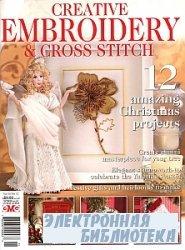 Creative Embroidery & Cross Stitch  №12  2009