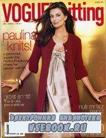Vogue knitting HOLIDAY 2007