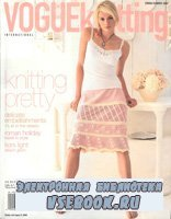 Vogue knitting 2006 Spring Summer