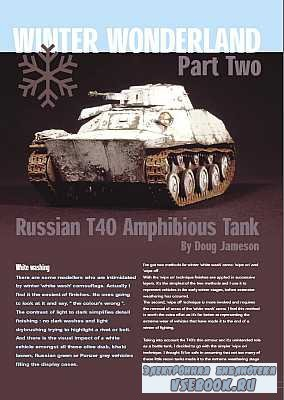 AFV Modeller - Issue 02 - 6 - Winter Wonderland Part 2. Russian T40 Amphibi ...