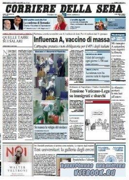 Corriere Della Sera  ( 26 08 2009 )