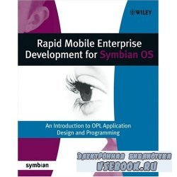 Mobile Enterprise Development for Symbian OS An Introduction to OPL Applica ...