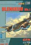 Бомбардировщик Bristol Blenheim Mk.I [GPM #173]