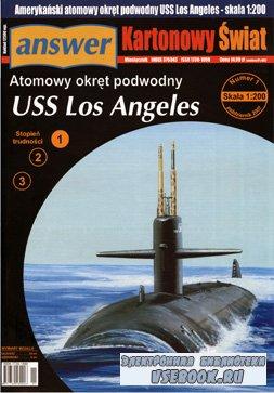 "Atomowy okret podwodny USS ""Los Angeles""(Атомная подводная лодка «Лос Андже ..."
