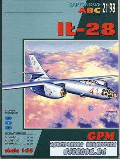 Фронтовой бомбардировщик Ил-28 [GPM #125]