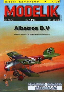 Истребитель Albatros D.V [Modelik 2004-13]