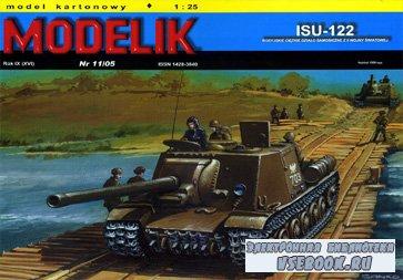 Самоходка ИСУ-122 [Modelik 2005-11]