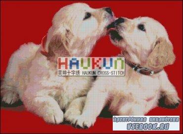 Буклет схем вышивки крестом HAUKUN A010