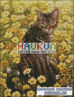 Буклет схем вышивки крестом HAUKUN A024