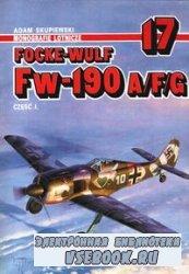 Focke-Wulf Fw-190 A/F/G Cz. 1 (Monografie Lotnicze 17)