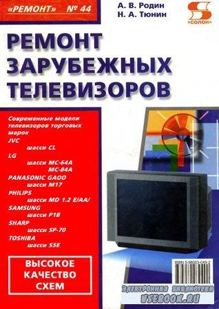 Ремонт зарубежных телевизоров