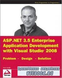 ASP.NET 3.5 Enterprise Application Development with Visual Studio 2008: Pro ...