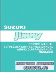 Suzuki Jimny SN413. Service Manual. Supplementary Service Manual. Wiring Di ...