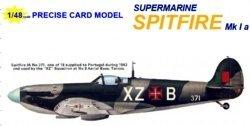 Бумажная модель - Supermarine Spitfire Mk Ia