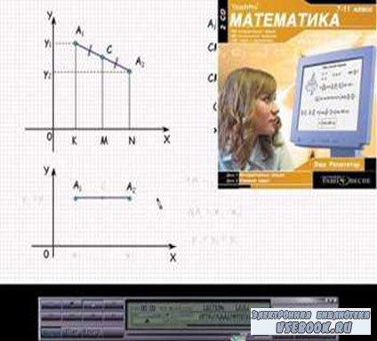 Математика 7-11 класс (2 CD) учебное пособие