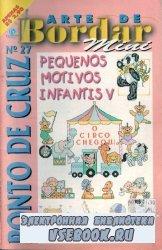 Arte de Bordar & Ponto Cruz MINI № 27