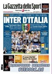 La Gazzetta dello Sport ( 13-14-15-16-17-05-2010 )