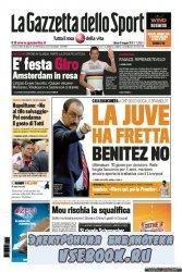 La Gazzetta dello Sport ( 7-8-9-05-2010 )