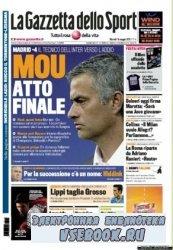 La Gazzetta dello Sport ( 18-19-05-2010 )