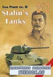 Tank Power vol. IV. Stalin's Tanks (Militaria 212)
