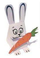 Объемная фигурка Кролика, Кота и Кисы - Талисман 2011