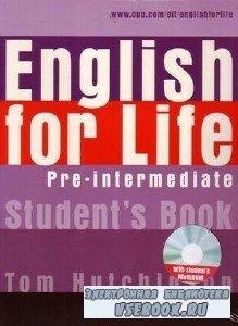 T. Hutchinson. English for Life Pre-Intermediate (с аудиокурсом)