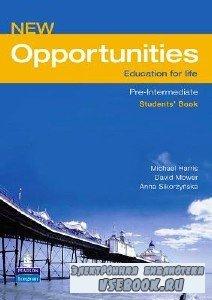 P. Reilly. New Opportunities Pre-Intermediate (с аудиокурсом)