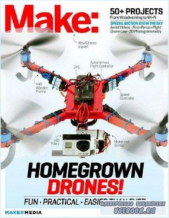 MAKE Magazine №37 (2014) PDF