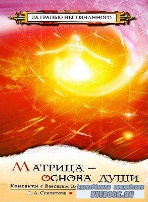 Секлитова Лариса, Стрельникова Людмила  - Матрица - основа души (Аудиокнига ...