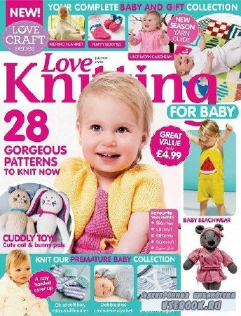 Love Knitting for Babies - July - 2015