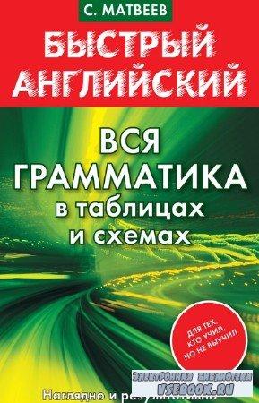 С.А. Матвеев - Быстрый английский. Вся грамматика в таблицах и схемах