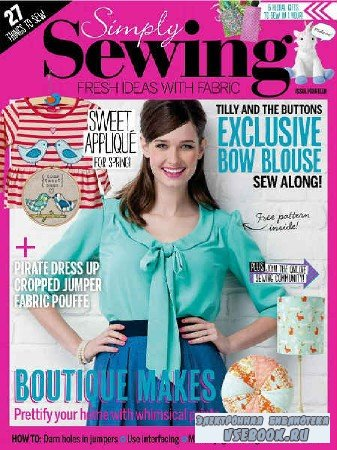 Simply Sewing №14 - 2016