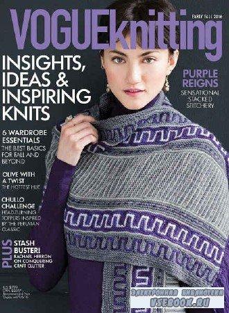 Vogue Knitting - Early Fall - 2016