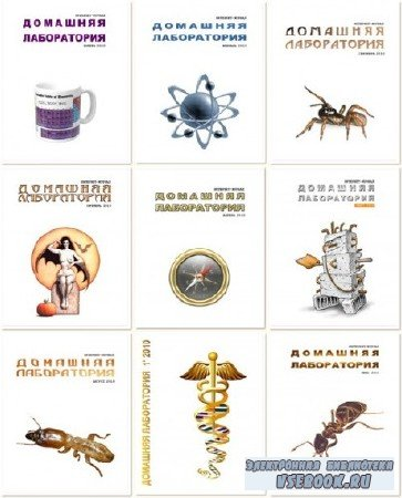 Журнал Домашняя лаборатория (полная коллекция из 112 выпусков) (2006-2016) Djvu