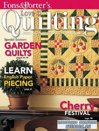 Love of Quilting Vol.13 №3 - 2008