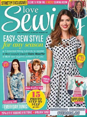 Love Sewing №34 - 2016