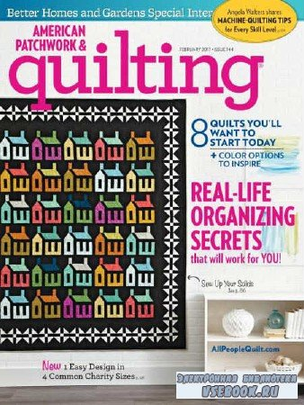 American Patchwork & Quilting  №144 - 2017