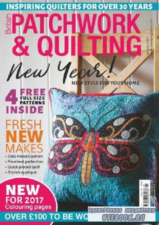 Patchwork & Quilting  — January - 2017