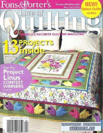Love of Quilting №86 - 2010