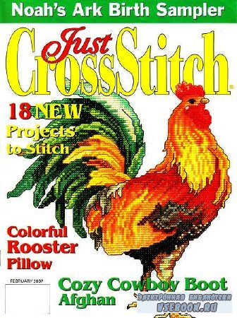Just Cross Stitch Vol.25 №1 - 2007