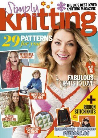 Simply Knitting №156 - 2017