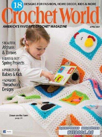 Crochet World  Vol.40 №2 - 2017