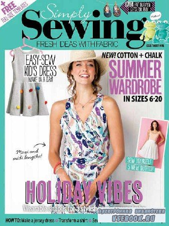 Simply Sewing №29 - 2017