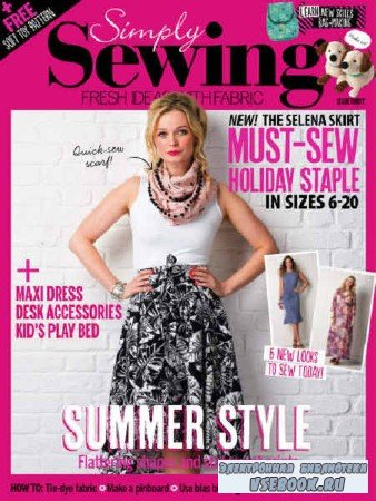 Simply Sewing №30 - 2017