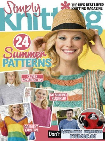 Simply Knitting - July - 2017