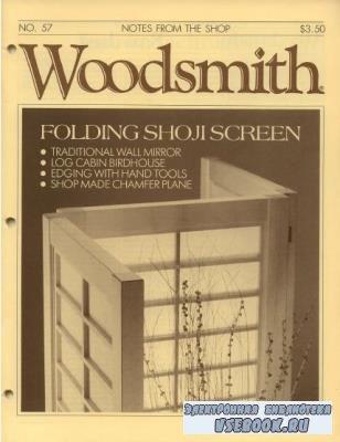 Woodsmith №55-60  (1988)