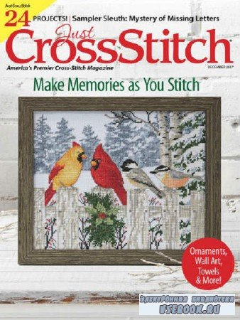 Just CrossStitch  Vol.35 №7 - 2017
