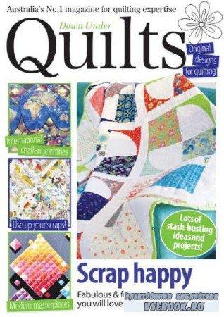 Down Under Quilts №180 - 2017