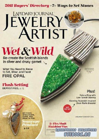 Lapidary Journal Jewelry Artist Vol.71 №8 - 2018